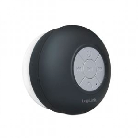 LogiLink Bluetooth shower speaker Black SP0052